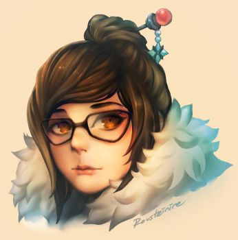 Overwatch - Mei by Rousteinire