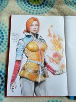 Triss Merigold - The Witcher 3 by Agent-Junkie
