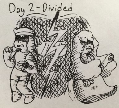 Inktober 2017 - Day 2 - Divided by Flamebearrel