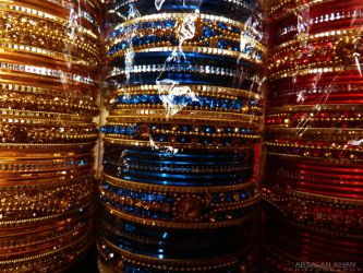 Colourful Bangles by ArsalanKhanArtist
