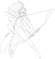 Opal aka Giant Woman Lines by ChellizardDraws