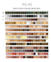 Color Swatches pt 01 by ovalbrush