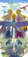 The Legend of Zelda - Skyward Sword by vandraws