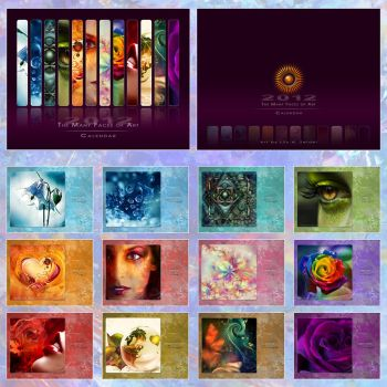 The Many Faces of Art CALENDAR by Lilyas