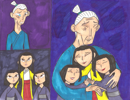 Kubo Father and Daughters reunited by Ready2Create