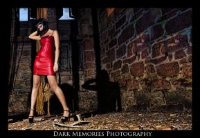 Bright red decay by DarkMPhotography
