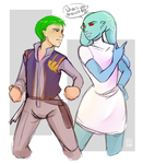 [SWR] - Jacen Syndulla and Graunera by Chyche