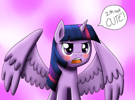 I-I'm Not Cute! by Jc-the-penguin