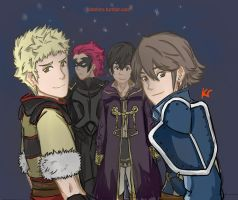 FEA Boys by Kid-Shiro