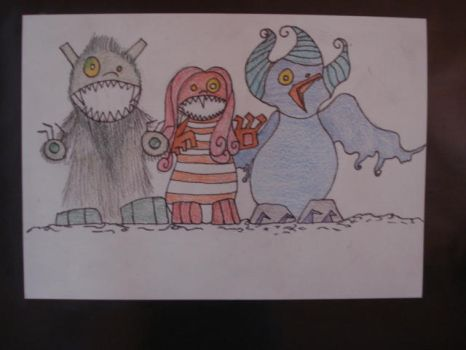 the wild things by megan-bricen