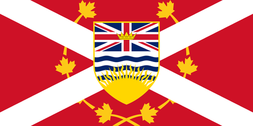 British Columbia Flag (Alternate Version) by MKC7162387