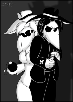 Spy Vs Spy - a gift for you~ by WAtheAnum
