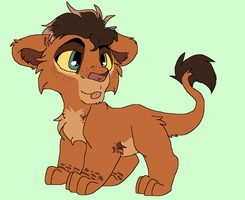 Cub for  Pixel-claws by kopaisfluffy