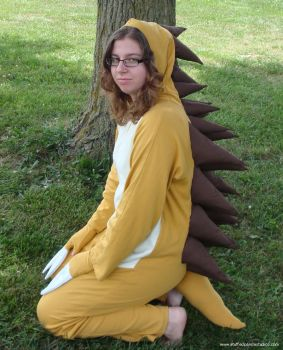 Sandslash - zippered kigurumi by aoikagetora