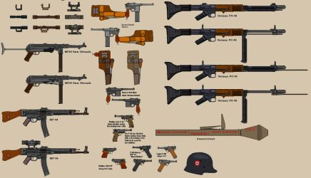 WW2 German Weapons 1 by BigChiefCrazyTalk