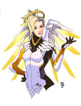Mercy, on call! by NagseoNinja
