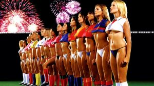 World Cup Babes 16:9 by thesockpuppet