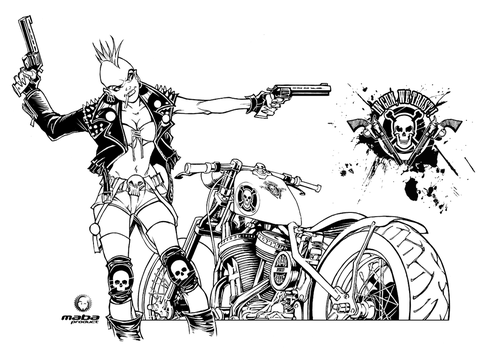 In Gun, we trust - Inking by MabaProduct