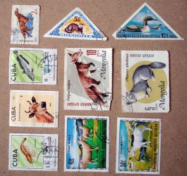 Russian Stamps_Stock_1 by DXstock