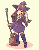 C - Akko by Kaibuzetta