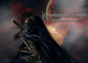 Darkness of Heaven Poster by Xaphrious