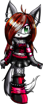 AngelXChao Request: Angel Punk by Moona-Luna