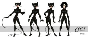 Catwoman: The Animated Series Catwoman ver 2.0 by rickytherockstar