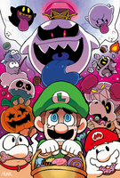 Luigi's Halloween by pepaden
