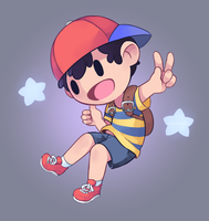 Ness Star by Drawn-Mario