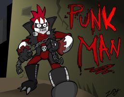 Punk Man by ZoDy