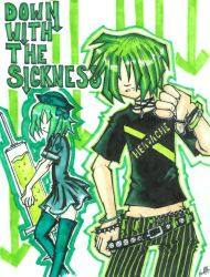 down with the sickness by radii12