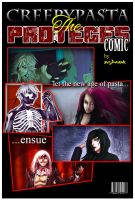 [CreepyPasta COMIC COVER]- The Proteges (REMADE) by Dav-Ink