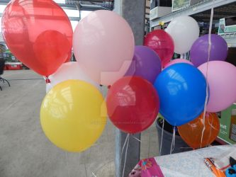 Tons of Balloons by LeeAnna-Rose