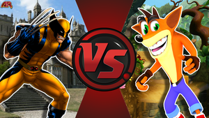 CFC|Wolverine vs. Crash Bandicoot by Vex2001