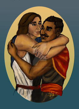 Commission - David and Dorian by Mutantenfisch