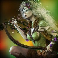 The Druid by MadamGoth