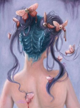 Evil Hair (series) by NicolePerez