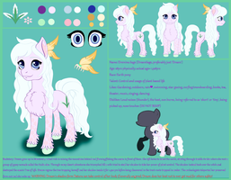 DreamSage Updated Design with Full Reference Sheet by TheDreamSage