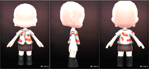 Maplestory 2 UGC: Splatoon 2 set by JoTheWeirdo