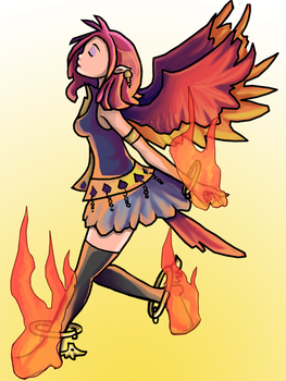 Phoenix Girl by InstantCereal
