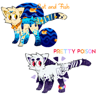 Goopy Feral Adopts {CLOSED} by Watermelon-Foxes