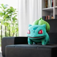 Bulbasaur sat down on chair) by doubleagent2005