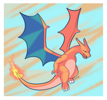 Heat Wave Charizard by dm17fox