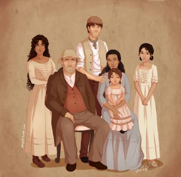 Family Portrait 1 by juliajm15