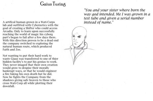Dreamfall Retold: Gaius Notes by avenger09