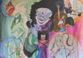 ALL THE FUSIONS! by mermaid554