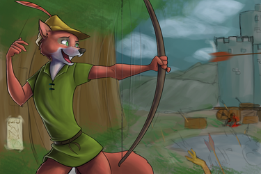 Robinhood by Artkadia