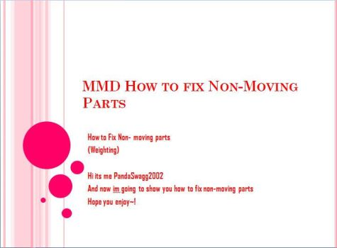 .:MMD - How to FIX non-moving parts:. by PandaSwagg2002