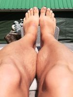 my legs in the spring sun by Netsrot1971
