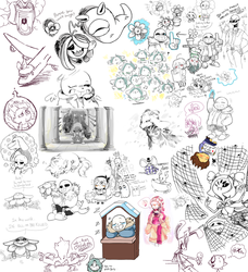 Undertale Drawpile 01 by minteaparty